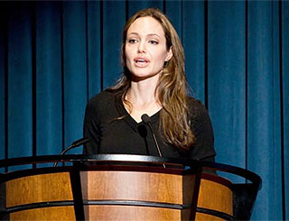 Angelina Jolie sets her sights on a career in politics