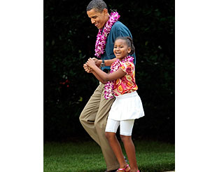 President Obama shares Hawaiian spirit at the White House