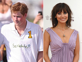 Prince Harry shares burger dinner with Natalie Imbruglia