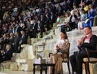 Queen Rania helps honour inspirational Jordanians
