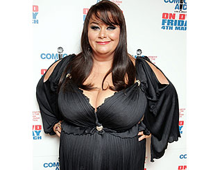 Dawn French says she has no qualms about her size