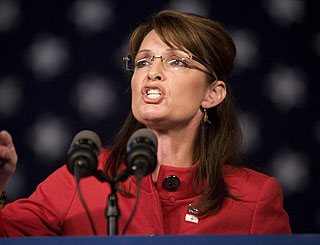 "Sarah Palin pursuing ""higher calling"" after her shock resignation"
