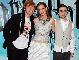 Potter stars work their magic as they prepare for premiere