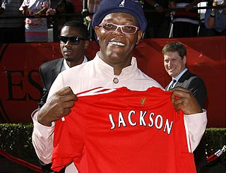 Samuel L Jackson revealed as Liverpool's most famous fan