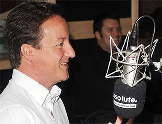 David Cameron makes his apologies for on-air blue language