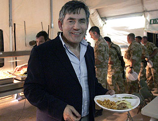 Gordon Brown reveals his love of Brussels sprouts