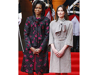 First Ladies among this year's best-dressed celebs