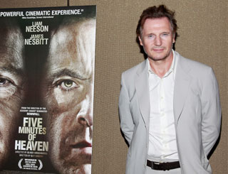 Liam Neeson returns to the spotlight for premiere of new flick
