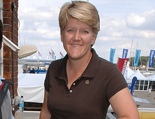 'Happy and rosy' Clare Balding in remission after cancer treatment