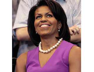 Michelle Obama debuts above Queen on most powerful list