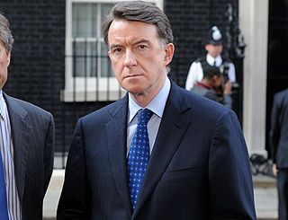 Peter Mandelson in hospital for routine op