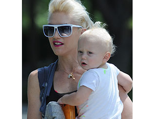 Gwen Stefani debuts her birthday boy's funky haircut