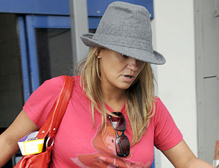 Kerry Katona cautioned for possession of drugs