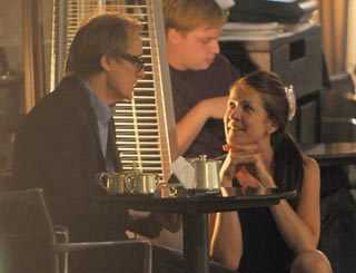 He's still got it: excited waitress swoons over Bill Nighy