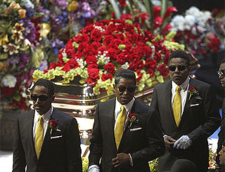 Michael Jackson's family prepare for his burial