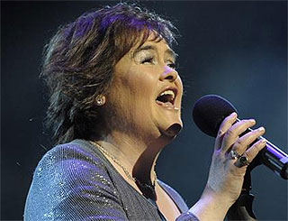 Susan Boyle's unreleased album tops bestsellers list