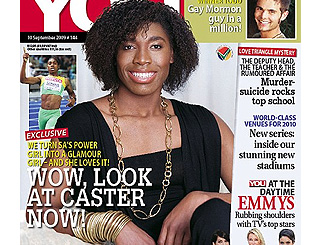 South African runner Caster Semenya given feminine makeover