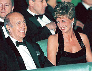 Former French president suggests  Diana love story