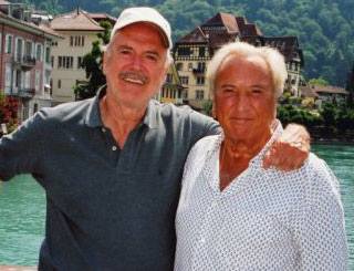 Sweet birthday treat helps ease John Cleese's divorce woes