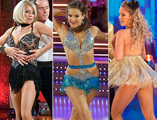 Viewers complain that 'Strictly' costumes come up short