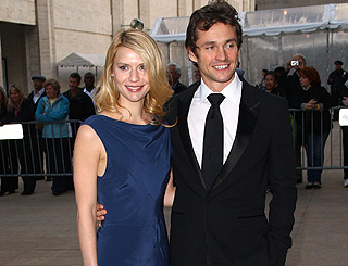 Intimate nuptials for Claire Danes and Hugh Dancy