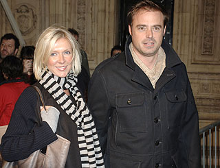 Baby boy joy for Jamie Theakston as second son Kit arrives