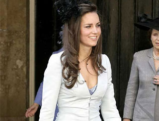 Minimum effort needed for Kate Middleton's glamorous look