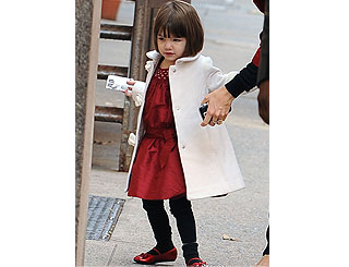 Suri Cruise's wardrobe reportedly worth £2 million
