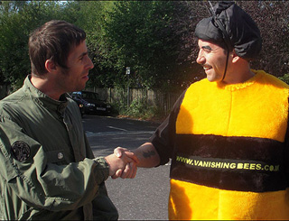 Honeybees saved my voice, let's save them, says Liam Gallagher
