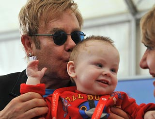 'I won't give Elton my baby' vows mum of Ukrainian toddler Lev