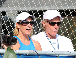 Love match over for Chris Evert after 15 months of marriage