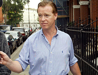 Diana's ex-lover James Hewitt embarks on a new life in Spain