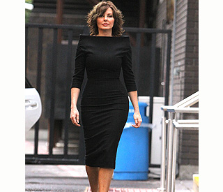 Carol Vorderman is latest celeb to dress up Posh