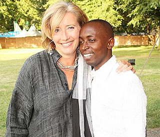 Emma Thompson's life completed by 'adopted' refugee