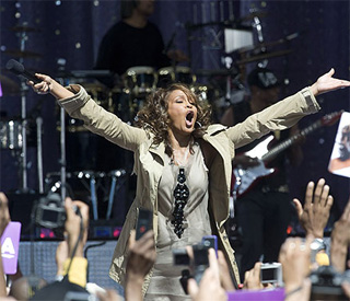 Whitney's got the X Factor: first UK gig in 12 years