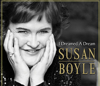 Susan Boyle's remarkable transformation for disc cover
