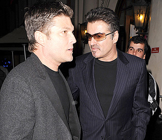 Date for George Michael and Kenny amid split reports