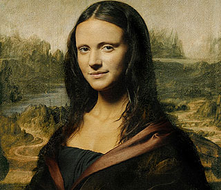 Corrie's Michelle Keegan is a picture as Mona Lisa