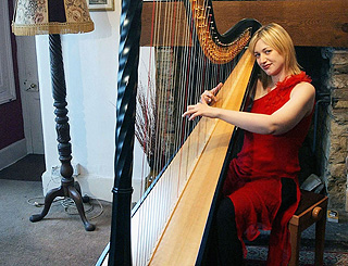Prince Charles' former harpist appears in court