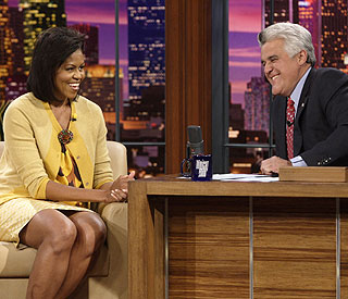 Comedy stint on US chat show for Michelle Obama