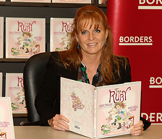 Sarah Ferguson sells rights for her children's books