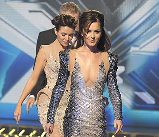 Number One girl Cheryl Cole celebrates topping charts