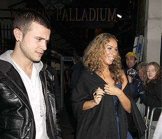 Leona Lewis sticks up for electrician boyfriend