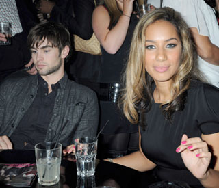 Kissing Chace Crawford wouldn't be fair says Leona