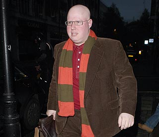 Matt Lucas comforts Stephen Gately's grieving partner