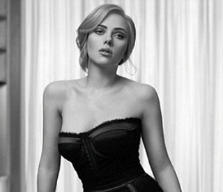 Scarlett Johansson on knockout form in new ad