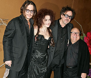 Johnny Depp goes gothic for Tim Burton's exhibition