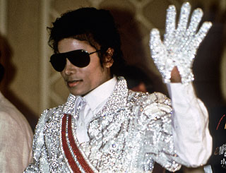Michael Jackson Moonwalk glove sells for $350,000
