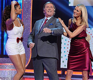 Piece of Children In Need set nearly hits Terry Wogan