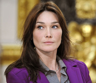 Carla Bruni confirms role in Woody Allen film